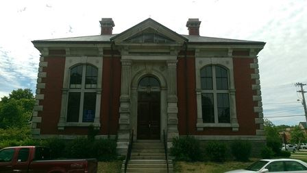 Water Department Building - Old Thayer Library